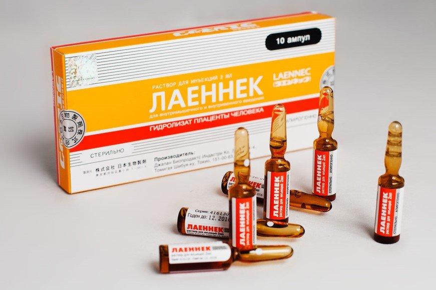 Применение препарата «Лаеннек»