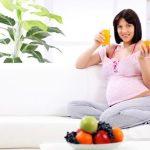 Апельсины в рационе беременных